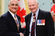 Beaconsfield's Frédéric Cassir receives Governor General medal for community service
