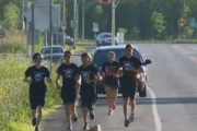 Four West Island youth carry Terry Fox's torch to Washington