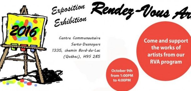 West Island Citizen Advocacy to its 14th annual Rendez-Vous Arts exhibition and sale
