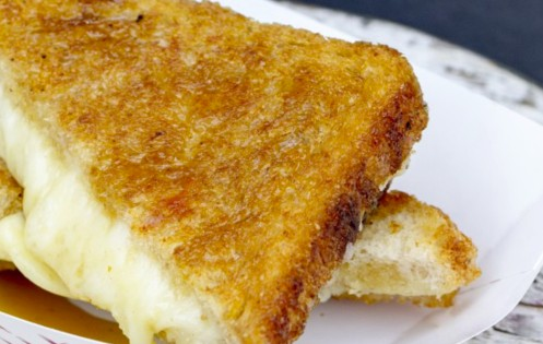 Delicious Maple Grilled Cheese
