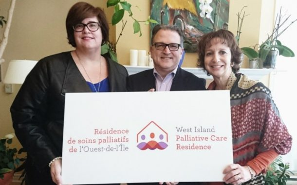West Island Palliative Care Residence Starts 15th Anniversary Year With Unveiling of New Logo