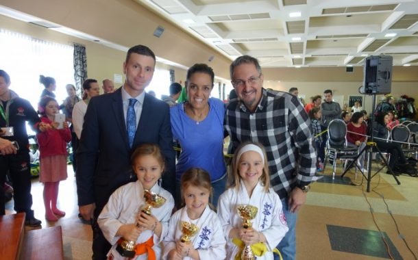 West Island Karate Championships encourage kids to reach for the stars