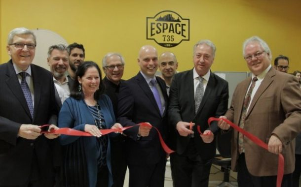 PME MTL West‐Island announces the inauguration of the co-working space, Espace 735