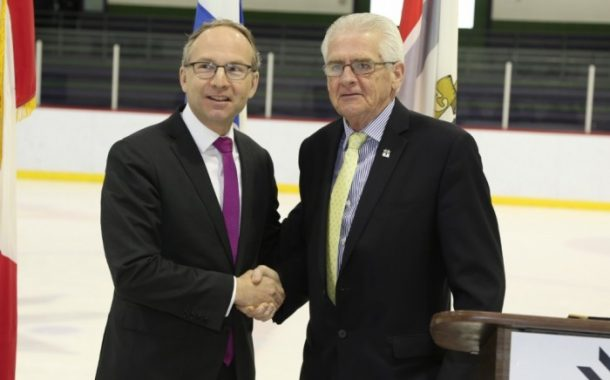 Kirkland Receives Financial Support from the Province  for the Modernisation of its Arena