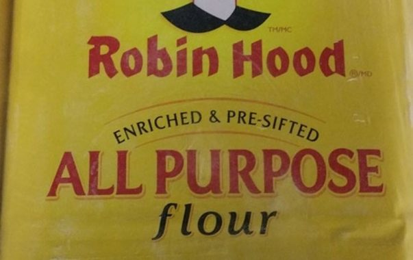 Country wide recall on  Robin Hood brand All Purpose Flour due to E. coli