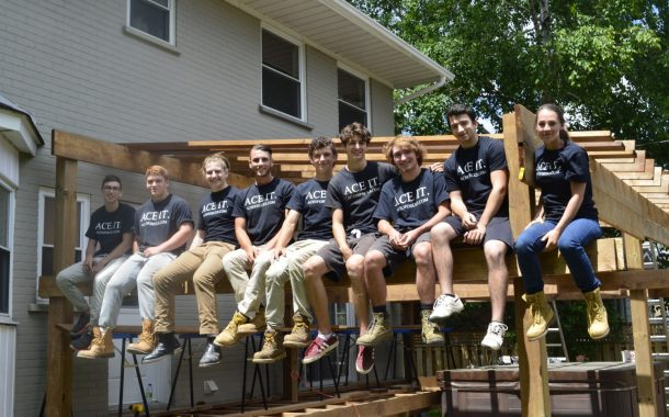 Ace of Decks grows up; local boys expand their deck making business to employ 12 more this summer