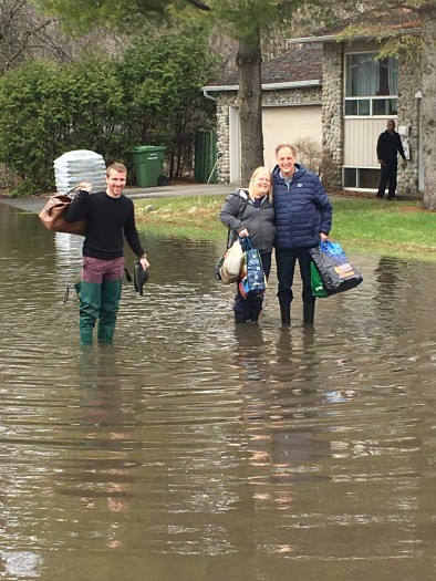 Rigaud declares a state of emergency, Ile Bizard water levels continue to rise