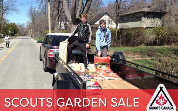 Beaconsfield Scouts Annual Garden Sale is Back!! Love this!!