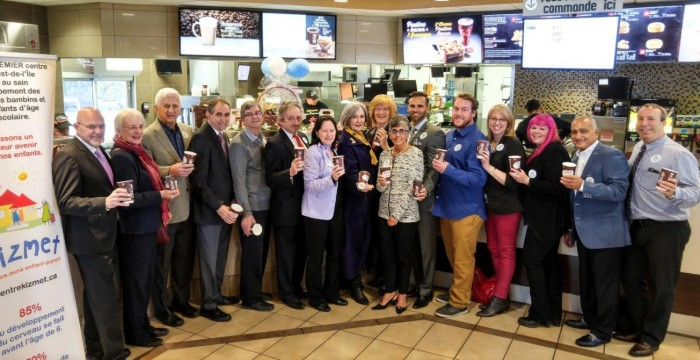 Beaconsfield residents put their McHappy Day funds towards KIZMET Centre