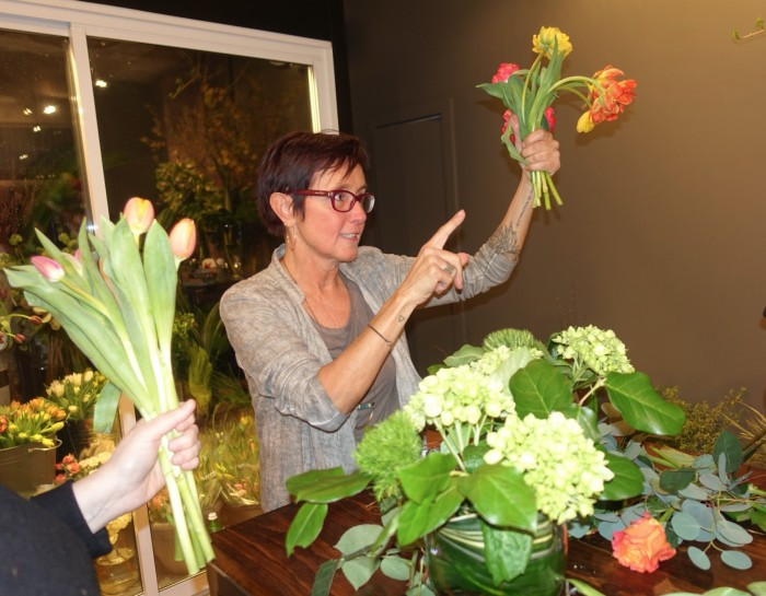 Fig Fleurs is more than a flower shop - they teach us the art flowers too