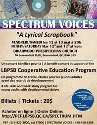 West Island vocal group will donate proceeds of upcoming show to special needs education program