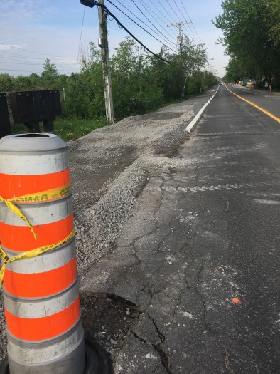 Beaconsfield's Elm Avenue bike path construction causes upset