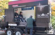 Spreading awareness about earthquake safety in Dorval on May 15th