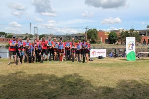 Paddling with AMCAL towards healthy family relationships, Rhonda Massad, West Island Blog, West Island News, dragon boat, boating, activities, charity