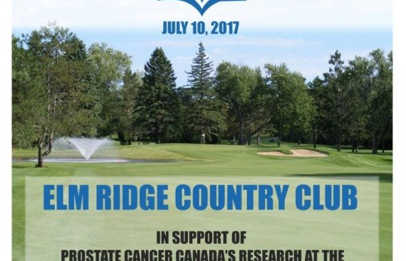 Tee It Up for Prostate Cancer at Elm Ridge on July 10