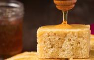 Cornbread and honey butter