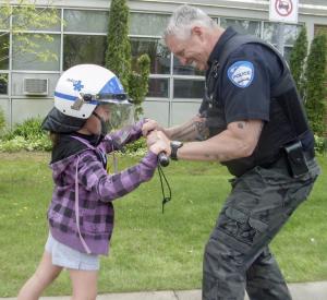 Police break down barriers