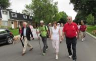 Ian's Walk for End of Life Care takes him to Kirkland City Hall