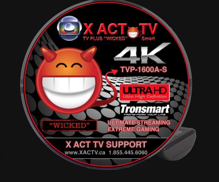 X ACT TV