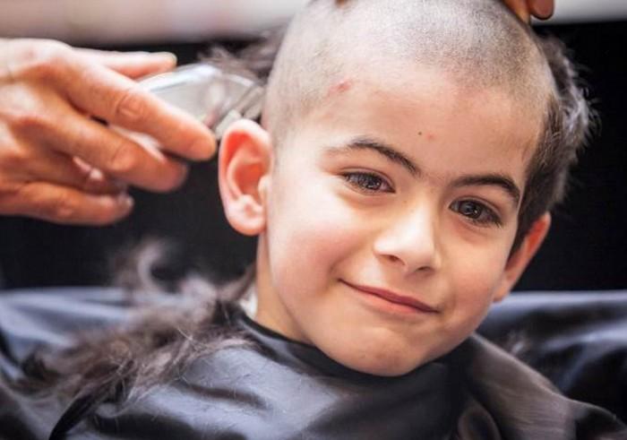 Shaved Head Challenge
