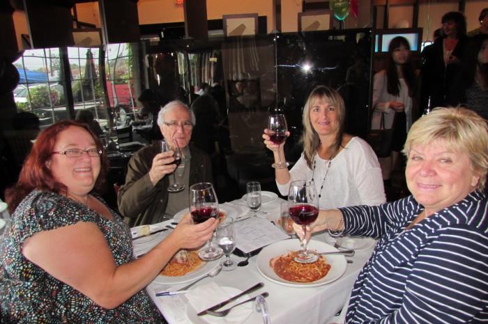 West Island Community Shares Spaghetti Lunch