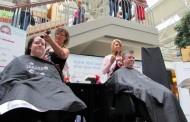 Leucan Shaved Head Challenge gets families shaving together