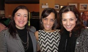Heather Holmes, Rhonda Massad, Brigitte Garceau.