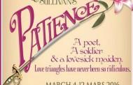 Lakeshore Light Opera presents Patience by Gilbert & Sullivan