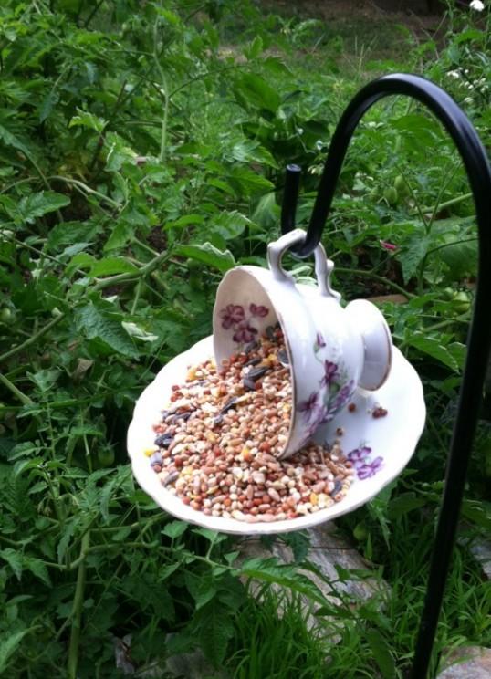 Teacups in the Garden, Janice Hillrich, Rhonda Massad, Tea Cups, Shopping from the Heart, West Island Blog
