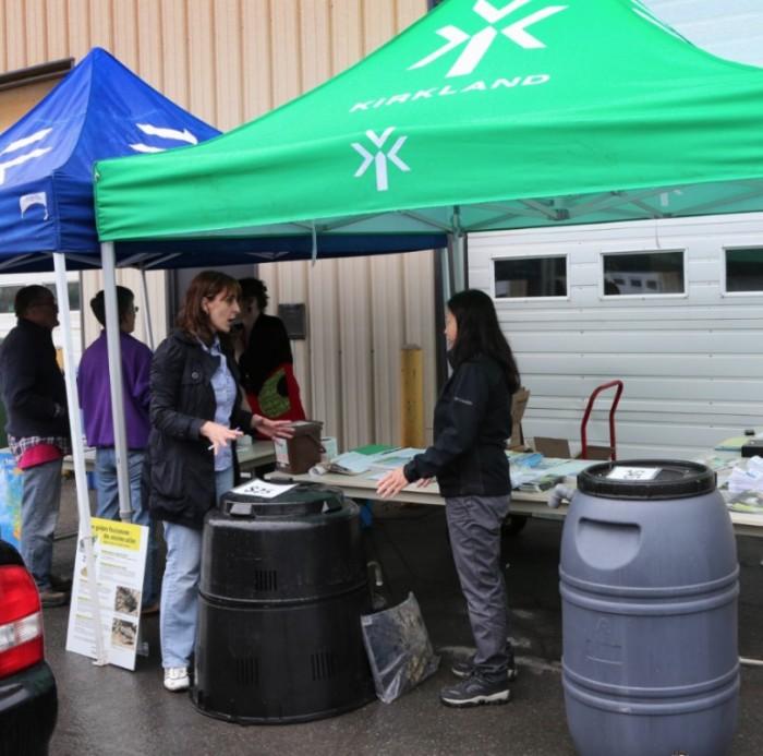 Kirkland Environment Day , Trees, Kirkland, Rhonda Massad, Save the Planet, West Island Blog, Mayor Michel Gibson