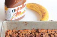 Flourless, gluten free peanut butter chocolate chunk blondies