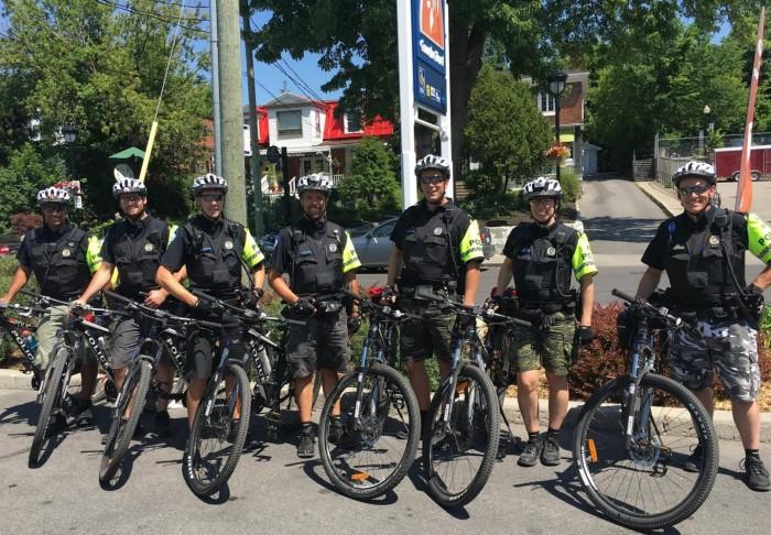 Southern West Island Police crack down on sports cyclists, Commander Sébastien de Montigny, PDQ 1, PDQ 5, Cyclists, Spandex, Green Route 5, Rhonda Massad,