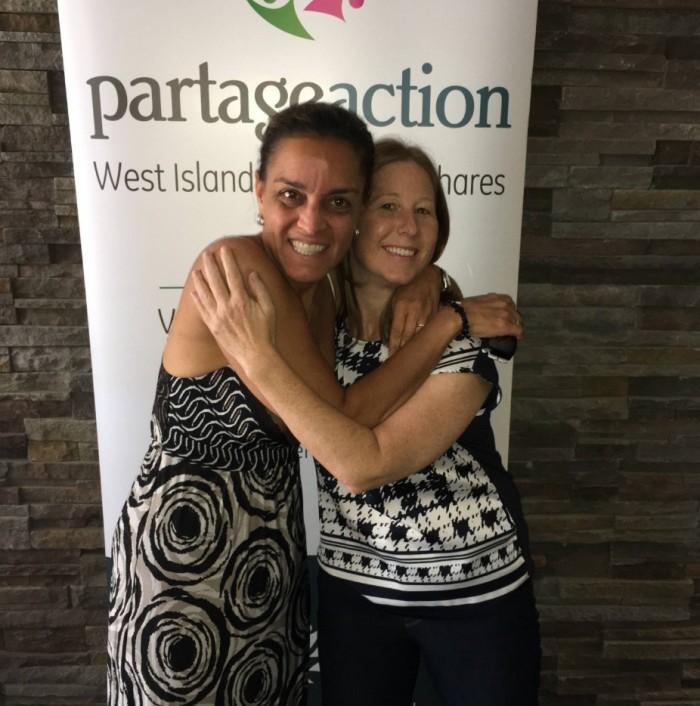 West Island Community Shares,Leanne Bayer, Executive Director,Rhonda Massad, West Island Blog, Community Support