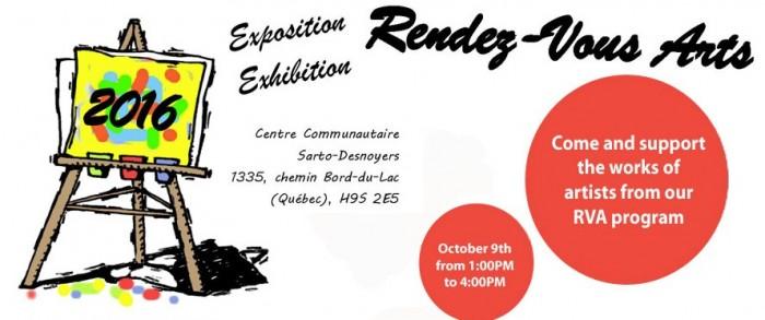 West Island Citizen Advocacy, Rendez-Vous Arts, exhibition,sale, West Island Blog, Rhonda Massad, Community, Voluneeter, Non-Profit