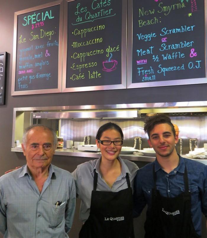 Generous, fresh portions make Le Quartier du Déjeuner a great value in the West Island