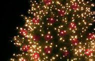 Christmas tree lighting in Sainte-Anne de Bellevue