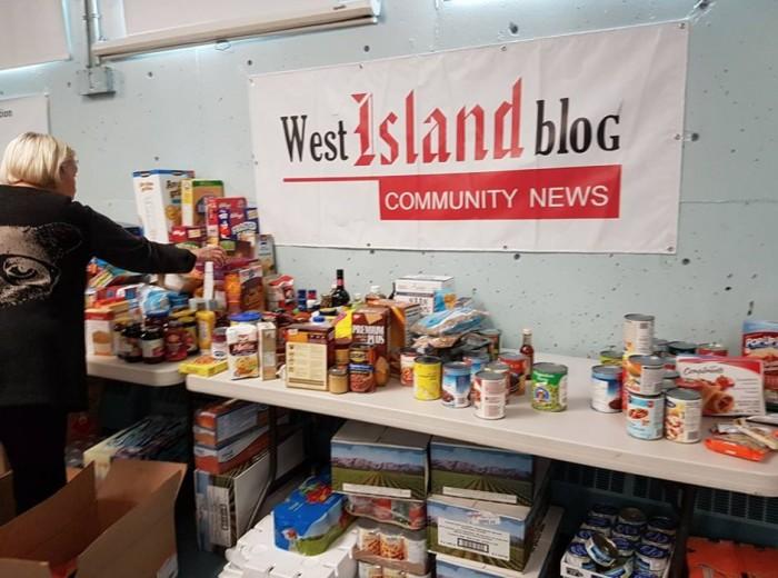 N4N Food Drive,Rhonda Massad, West Island Blog, West Island News