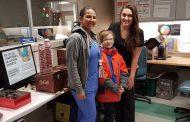 Lakeshore General Hospital ER working at 240% capacity gets a break from a good samaritan