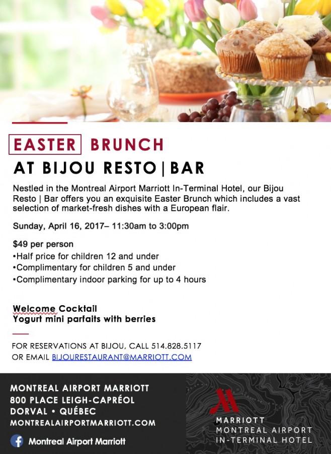 Easter brunch Bijou