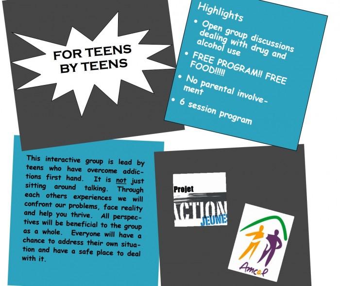 Teens for Teens, Rhonda Massad, West Island Blog, West Island News, AMCAL