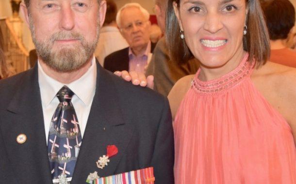 Dorval's Retired Master Warrant Officer Rick Cartmel celebrates Dutch King's Birthday