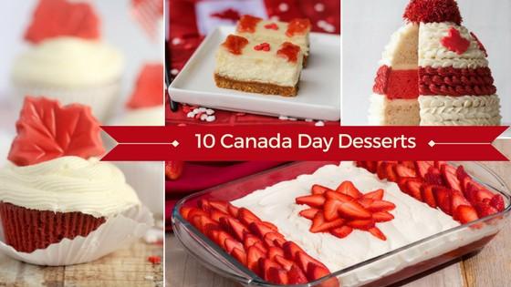 Canada Day Dessert