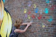 West Island human trafficking survivor makes a symbolic artistic gesture