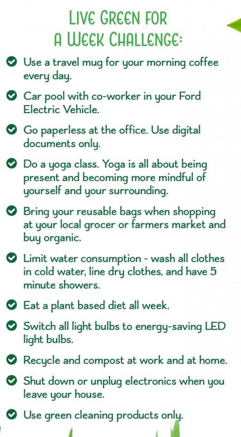 Ford, Green Challenge, Rhonda Massad, Green Environment