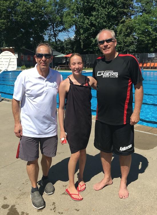 Eric Kramer, West Island News, West Island Blog, Swim Club, Pointe Claire Swim Club, Saskatoon Lasers Swim Club