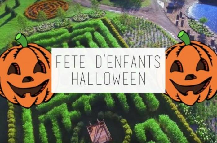 Charmant Kids Halloween Party At La Pépinière Champs De Rêves