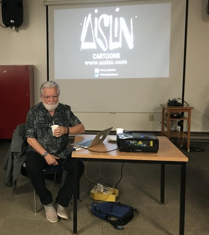 Terry Mosher, Aislin, Rhonda Massad, West Island Blog, West Island News