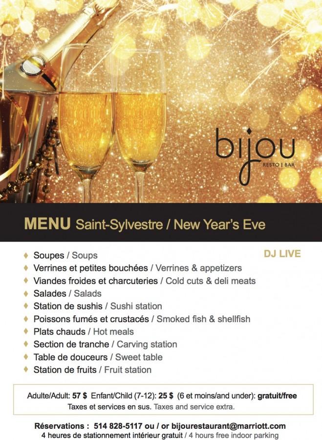 Bijou new years special