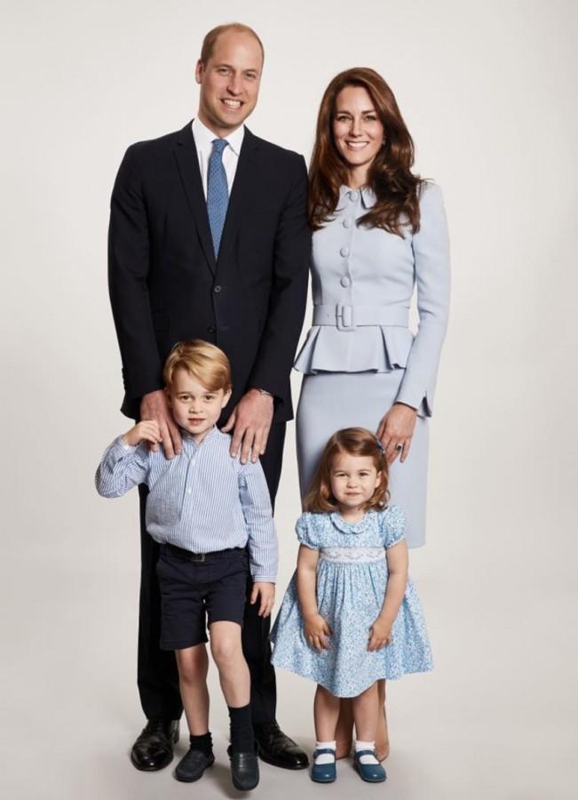 Royal Family Christmas Card, Rhonda Massad, West Island Blog, West Island News, Royals. Montreal