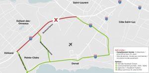 REM Road closures